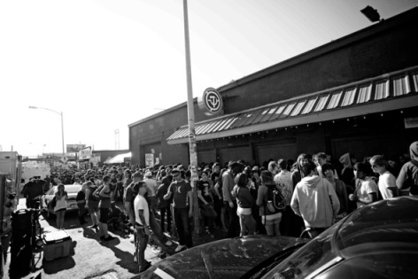 Line Outside the 2012 Artery Foundation SXSW Showdown